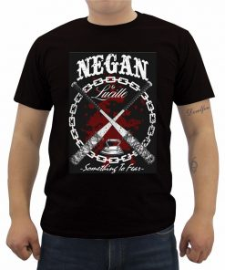 Fashion Summer Men s Cotton T shirt New The Walking Dead T Shirt Casual Short Sleeve 3