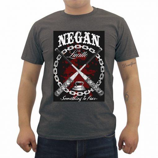 Fashion Summer Men s Cotton T shirt New The Walking Dead T Shirt Casual Short Sleeve