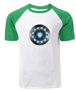 Fashion Tony Stark Tshirt Marvel Iron Man T Shirt Men Avengers Anime Summer Raglan Tshirt Streetwear 3