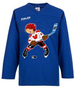 Free shipping Ice Hockey Shirts For Training with cartoon logo