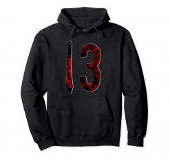 Friday 13TH Shirt Horror Movie Pullover Hoodie swearshirt Pullover Hoodie swearshirt