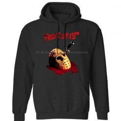 Friday The 13th Dagger Jason Voorhees Hockey Mask Official Mens Neutral Womens Winter Hoodies Sweatshirts Free