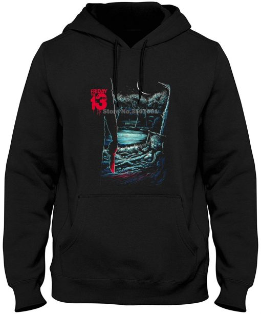 Friday The 13th Horror Jason Voorhees Premium Graphic Hoodies Sweatshirts