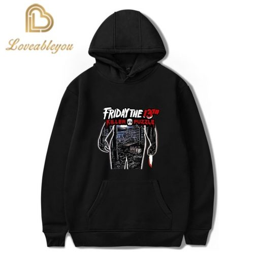 Friday The 13th Male Raglan Hoodies Freddy Horror Maske Creative Mens Pullover Casual Funny Mens Autumn