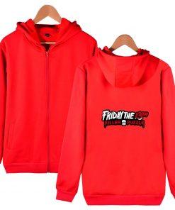 Friday The 13th Zipper Hoodie Sad Jason Voorhees Horror Hoody Camp Crystal Lake Hoodies Fashion Men 4