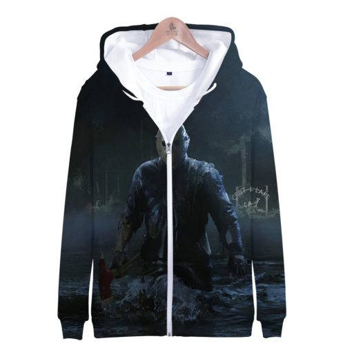 Friday the 13th 3D Print Popular Street Zipper cool Hipster Hooded Sweatshirt Fashion comfortable Casual Street 1