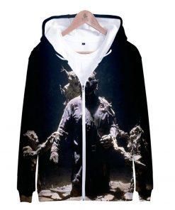 Friday the 13th 3D Printed Zipper Hoodies Women Men Fashion Long Sleeve Hooded Sweatshirt Hot Sale 1
