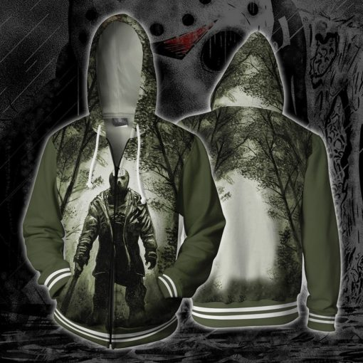Friday the 13th Bill Cosplay Costumes Friday the 13th Hoodies 3D Print Hoodie Mens Women Animation