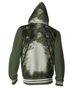 Friday the 13th Hoodie Cosplay Zipper Up Hoody Hoodie Adult Man Jacket Coat Jacket 1