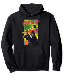 Friday the 13th Retro Game Pullover Hoodie swearshirt Pullover Hoodie swearshirt