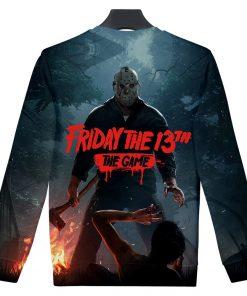 Friday the 13th The Game 3D Print streetswear Anime mens women Harajuku Hoodies Sweatshirt Hawaii sweatshirt 1