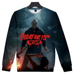 Friday the 13th The Game 3D Print streetswear Anime mens women Harajuku Hoodies Sweatshirt Hawaii sweatshirt