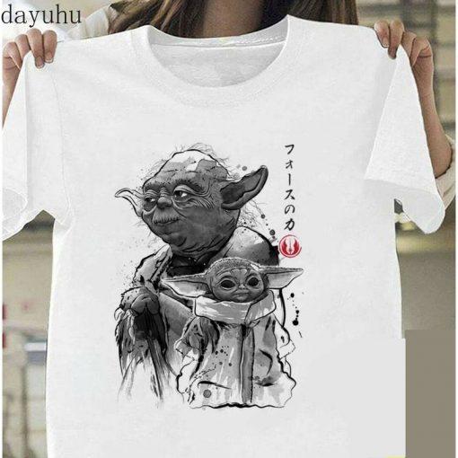 Funny Baby Yoda Mandalorian The Child In Pocket Funny T Shirt Men Women Summer New White