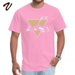 Funny Pittsburgh Penguin Logo O Neck T Shirt Labor Day cosie Tops Shirt Venom Sleeve Hip 1