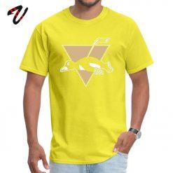Funny Pittsburgh Penguin Logo O Neck T Shirt Labor Day cosie Tops Shirt Venom Sleeve Hip 2