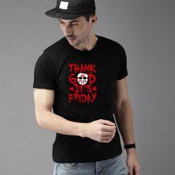 Funny Thank God It s Friday The 13th Tgif Halloween tshirt big size s 85xL Humor 2