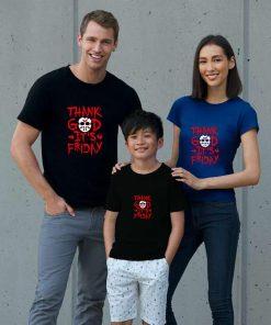 Funny Thank God It s Friday The 13th Tgif Halloween tshirt big size s 85xL Humor 4