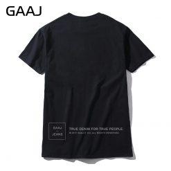 GAAJ USA America Flag Men T Shirt Top High Quality T shirts For Man 3XL T 1