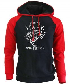 Game Of Thrones Casual Men s Sweatshirt 2018 Spring New Hoodies HOUSE STARK OF WINTER FELL 4