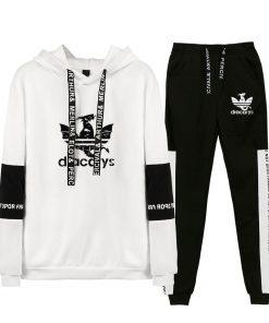 Game Of Thrones Dracarys Cool Logo Sweatshirt Suits 2019 New Hip Hop Hoodies Sweatshirts And Sweatpants 2