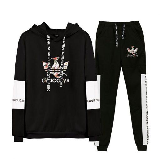 Game Of Thrones Dracarys Cool Logo Sweatshirt Suits 2019 New Hip Hop Hoodies Sweatshirts And Sweatpants 3