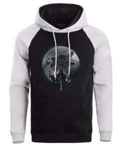 Game Of Thrones Hoodie Men Sweatshirt Male House Stark Wolf Winter Hoodies Sweatshirts Mens Pullover Fleece 3
