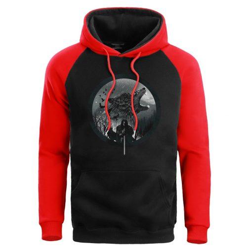 Game Of Thrones Hoodie Men Sweatshirt Male House Stark Wolf Winter Hoodies Sweatshirts Mens Pullover Fleece