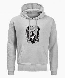 Game Of Thrones Hoodies House Stark King In The North Print Hoodie Sweatshirt Men Hip Hop 1
