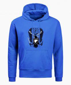 Game Of Thrones Hoodies House Stark King In The North Print Hoodie Sweatshirt Men Hip Hop 4