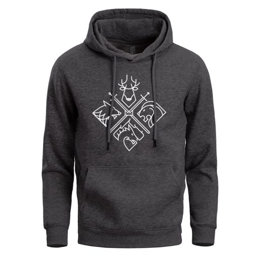 Game Of Thrones Hoodies Sweatshirts Men House Stark Targaryen Wolf Lion Dragon Men S Hoodie 2019 4