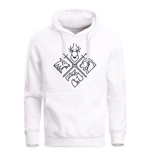 Game Of Thrones Hoodies Sweatshirts Men House Stark Targaryen Wolf Lion Dragon Men S Hoodie 2019 5