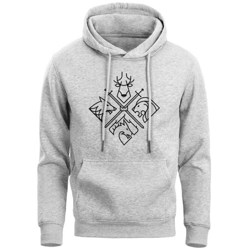 Game Of Thrones Hoodies Sweatshirts Men House Stark Targaryen Wolf Lion Dragon Men S Hoodie 2019