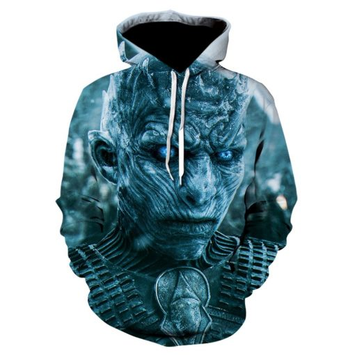 Game Of Thrones House Stark Targaryen Lannister Raglan Hoodies Men 2019 Night King Dragon Jackets Men 1