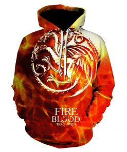 Game Of Thrones House Stark Targaryen Lannister Raglan Hoodies Men 2019 Night King Dragon Jackets Men 2