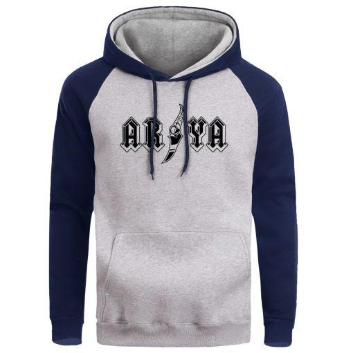 Game Of Thrones Men Hoodie Sweatshirt Hoodies Sweatshirts Male Winter Ayra House Stark Fleece Pullover Mens 3