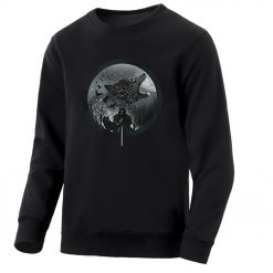Game Of Thrones Men S Hoodie 2020 Spring Autumn Fashion Sweatshirts Wolf Jon Snow Mens Sweatshirt 1