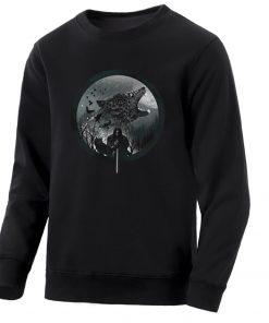 Game Of Thrones Men S Hoodie 2020 Spring Autumn Fashion Sweatshirts Wolf Jon Snow Mens Sweatshirt 1