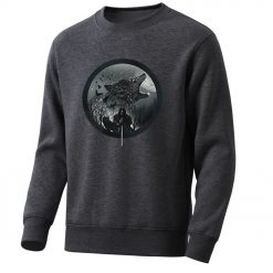 Game Of Thrones Men S Hoodie 2020 Spring Autumn Fashion Sweatshirts Wolf Jon Snow Mens Sweatshirt 2