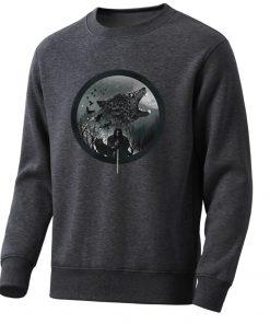 Game Of Thrones Men S Hoodie 2020 Spring Autumn Fashion Sweatshirts Wolf Jon Snow Mens Sweatshirt 2