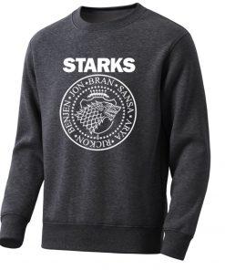 Game Of Thrones Mens Hoodies Sweatshirts House Starks Men S Hoodie Leisure Pullover Streetwear Popular Wolf 1