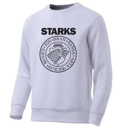 Game Of Thrones Mens Hoodies Sweatshirts House Starks Men S Hoodie Leisure Pullover Streetwear Popular Wolf 2