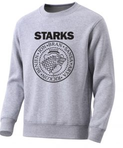 Game Of Thrones Mens Hoodies Sweatshirts House Starks Men S Hoodie Leisure Pullover Streetwear Popular Wolf 3