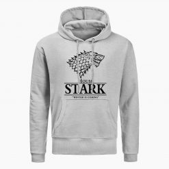 Game Of Thrones Sweatshirt House Stark The Song Of Ice And Fire Winter Is Coming Mens 2