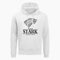 Game Of Thrones Sweatshirt House Stark The Song Of Ice And Fire Winter Is Coming Mens 3