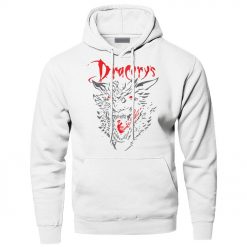 Game of Thrones Dracarys Dragon Hoodie Men Sweatshirt Winter Fleece Pullover Sweatshirts Hooded Hoodies Daenerys Targaryen 2
