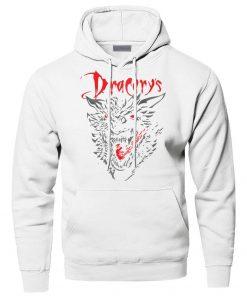 Game of Thrones Dracarys Dragon Hoodie Men Sweatshirt Winter Fleece Pullover Sweatshirts Hooded Hoodies Daenerys Targaryen 2
