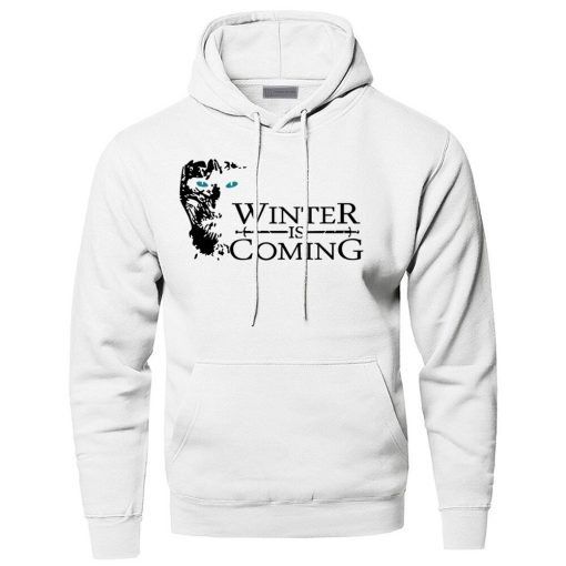Game of Thrones Hoodies Men Winter Is Coming The Night King Hooded Sweatshirts Winter Autumn A 1