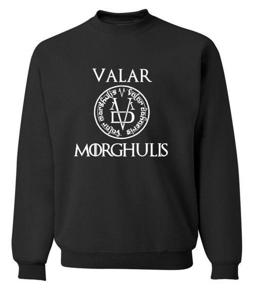 Game of Thrones Men Sweatshirts Valar Morghulis All Men Must Die Print Funny Mens Hoodies 2019 1