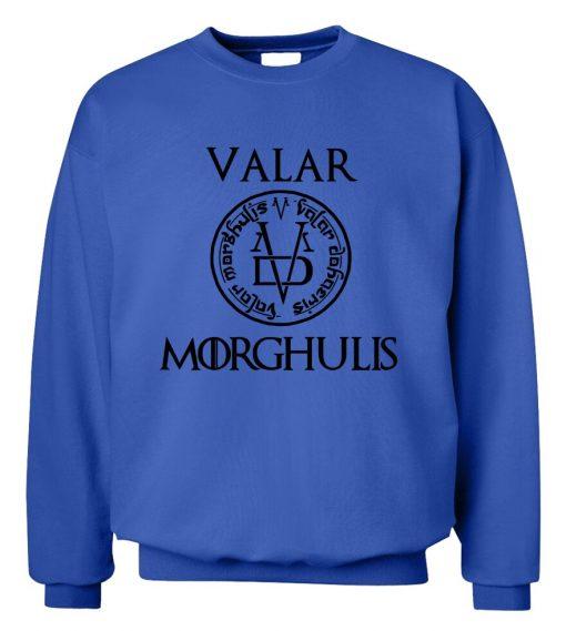 Game of Thrones Men Sweatshirts Valar Morghulis All Men Must Die Print Funny Mens Hoodies 2019 2