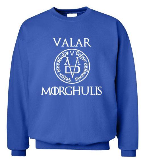 Game of Thrones Men Sweatshirts Valar Morghulis All Men Must Die Print Funny Mens Hoodies 2019 3